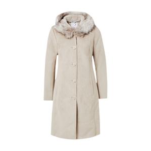 RINO & PELLE Zimní kabát  písková