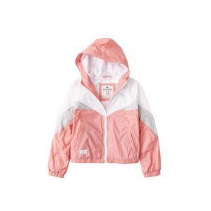 Abercrombie & Fitch Přechodná bunda  modrá / růžová / bílá