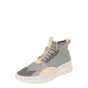 EKN Footwear Kotníkové tenisky 'BEECH'  šedá / žlutá