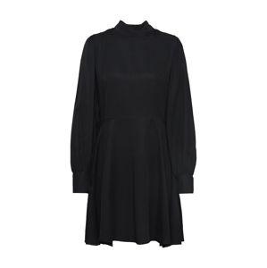 Funky Buddha Šaty 'WOMEN DRESSES SKATER DRESS'  černá