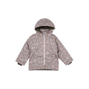 NAME IT Zimní bunda  béžová / jasně oranžová / zelená / světlemodrá
