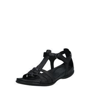 ECCO Páskové sandály 'Flash'  černá