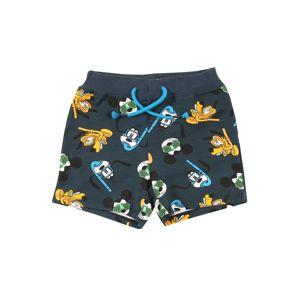NAME IT Kalhoty 'Mickey Magnar'  mix barev / námořnická modř