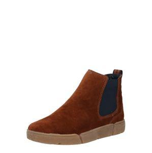 ARA Chelsea boty  hnědá