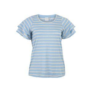 Junarose Tričko 'TILDA'  modrá / šedá