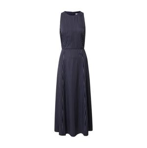 IVY & OAK Šaty 'Pinstripes'  modrá / bílá