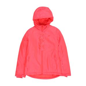 4F Outdoorová bunda  červená