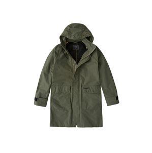 Abercrombie & Fitch Přechodný kabát  olivová