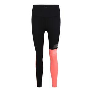 Superdry Sportovní kalhoty  korálová / černá