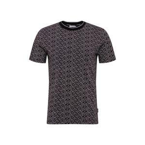 Calvin Klein Tričko  bílá / černá