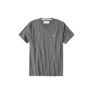 Abercrombie & Fitch Tričko  tmavě šedá