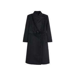 MANGO Přechodný kabát 'Margie'  černá