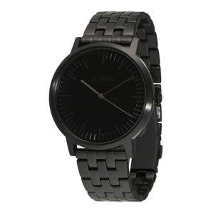 Nixon Analogové hodinky 'Porter'  černá