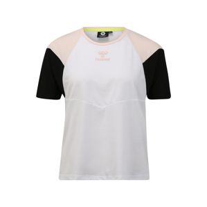 Hummel Funkční tričko 'ROBIN'  růžová / bílá / černá