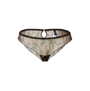 Icone Lingerie Kalhotky 'CASSIOPÉE'  světle růžová / černá