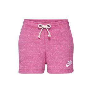 Nike Sportswear Sportovní kalhoty 'GYM VNTG SHORT'  pink