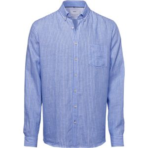 BRAX Košile 'Dries'  bílá / královská modrá