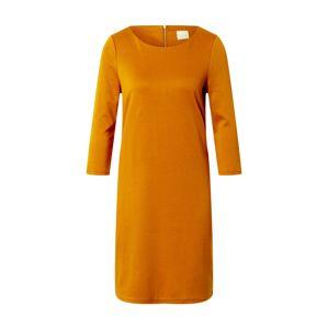 VILA Šaty 'TINNY'  tmavě oranžová