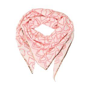 Zwillingsherz Šátek  pink