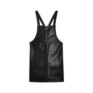 Miss Selfridge Laclová sukně  černá