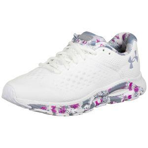 UNDER ARMOUR Sportovní boty  bílá / fialová / šedá
