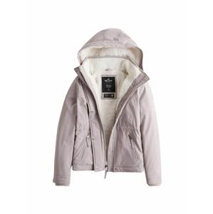 HOLLISTER Zimní bunda  šedá
