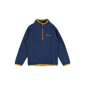 TROLLKIDS Funkční flísová bunda 'Nordland'  modrá / zlatě žlutá
