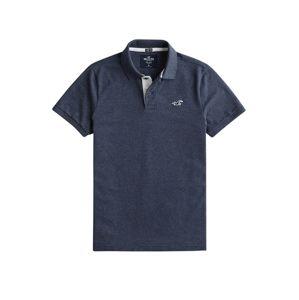 HOLLISTER Tričko  námořnická modř