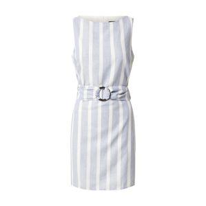 Trendyol Letní šaty  bílá / světlemodrá