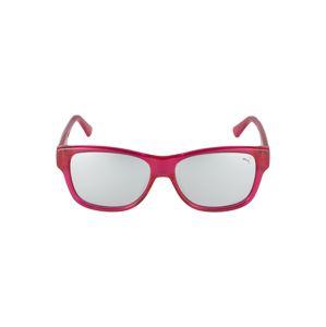 PUMA Sluneční brýle 'PJ0004S '  fuchsiová / černá / stříbrná