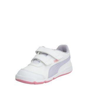 PUMA Sportovní boty  bílá / šeříková
