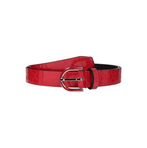 Calvin Klein Opasek  červená