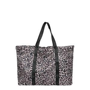 HKMX Sportovní taška  černá / tělová / hnědá