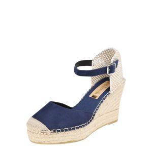 Vidorreta Sandály  béžová / marine modrá