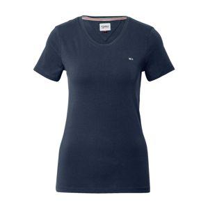 Tommy Jeans Tričko  námořnická modř