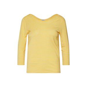 VERO MODA Tričko 'AVA'  žlutá / bílá