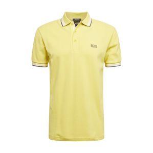 BOSS ATHLEISURE Tričko 'Paddy'  žlutá