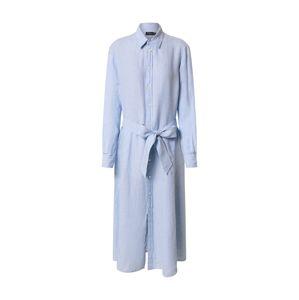 POLO RALPH LAUREN Košilové šaty  světlemodrá