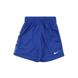 Nike Sportswear Kalhoty  královská modrá / zelená / bílá
