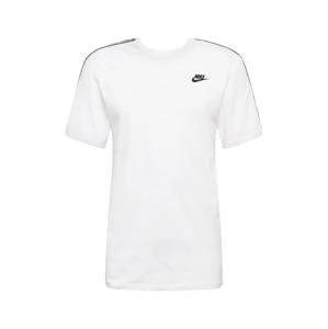 Nike Sportswear Tričko  bílá / černá