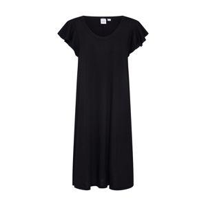 GAP Letní šaty 'SS FLTR SWNG DRS - SLD'  černá