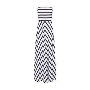 Lauren Ralph Lauren Společenské šaty 'BELLEMORE'  námořnická modř / bílá