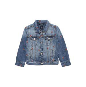 GAP Přechodná bunda  modrá džínovina