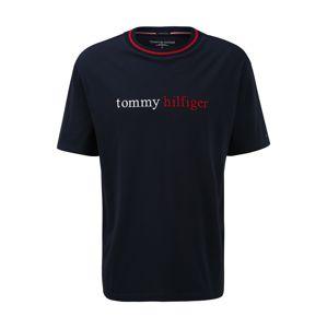 Tommy Hilfiger Underwear Tričko  noční modrá / bílá / červená