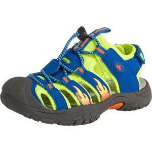 LICO Otevřená obuv 'Nimbo'  žlutá / tmavě oranžová / modrá