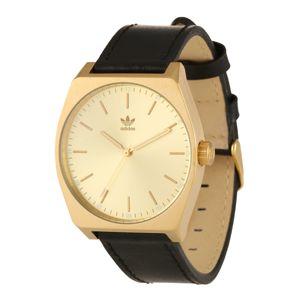 ADIDAS ORIGINALS Analogové hodinky 'Process_L1'  zlatá / černá