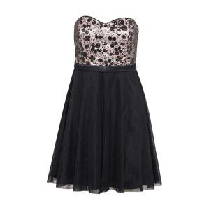 VM Vera Mont Koktejlové šaty  růžová / černá