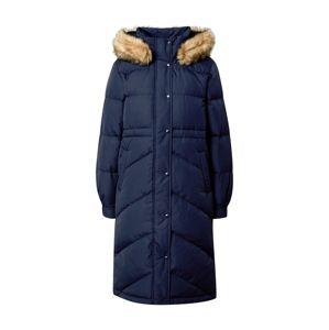 GAP Zimní kabát  námořnická modř / béžová
