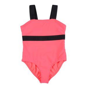 Abercrombie & Fitch Plavky  svítivě růžová
