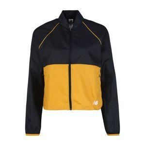 new balance Sportovní bunda 'VELOCITY JACKET'  žlutá / černá